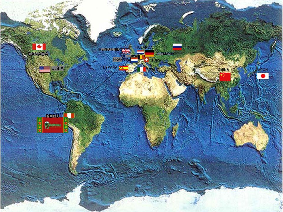 www.cecovasa.com.pe Café Quechua y Aymará de Perú CECOVASA15 U.S.A. CANADA PERU REINO UNIDO FRANCIA BELGICA ALEMANIA ESPAÑA ITALIA SUIZA RUSIA CHINAJA