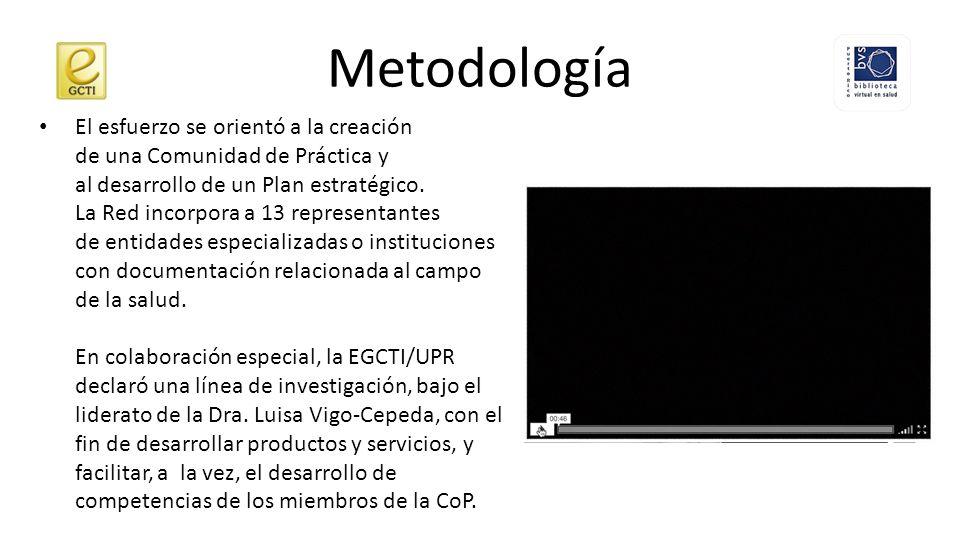 Metodología En la creación y el desarrollo de la BVS-PR, se han adoptado el modelo y las metodologías desarrolladas por BIREME.
