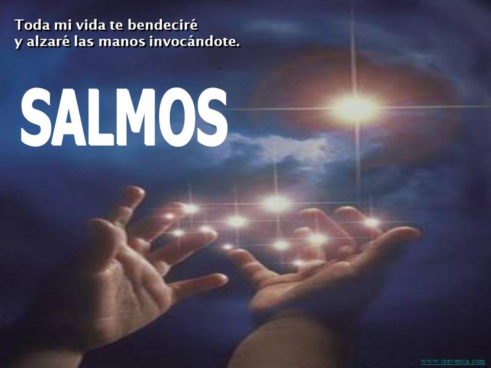 Toda mi vida te bendeciré y alzaré las manos invocándote.