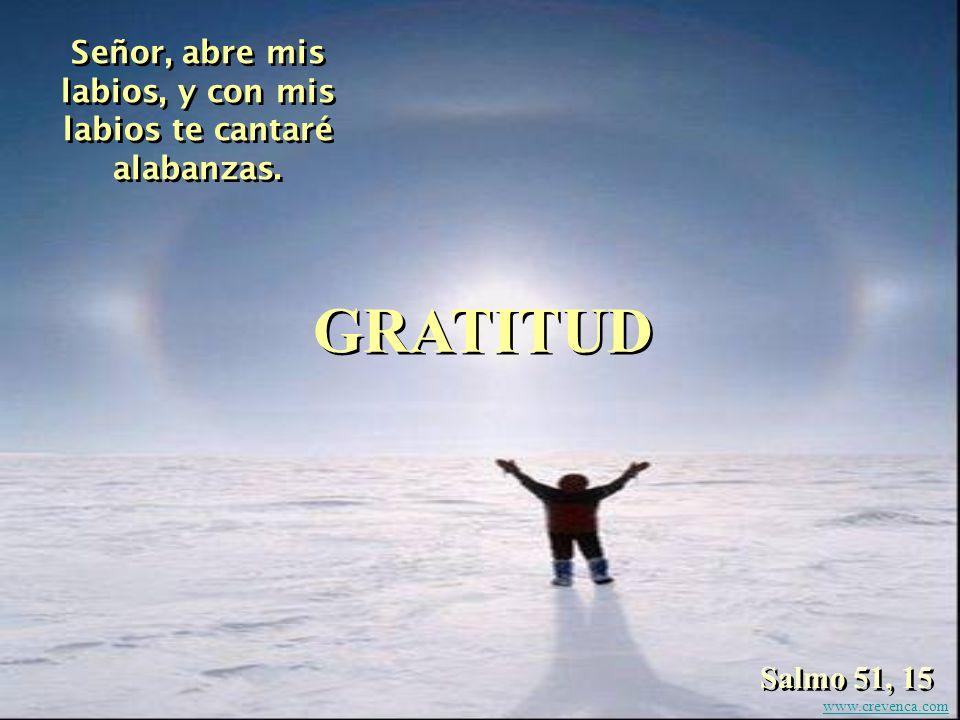 Aclamen al Señor, hombres buenos; en labios de los buenos la alabanza es hermosa. Salmo 33, 1 ALEGRÍA www.crevenca.com