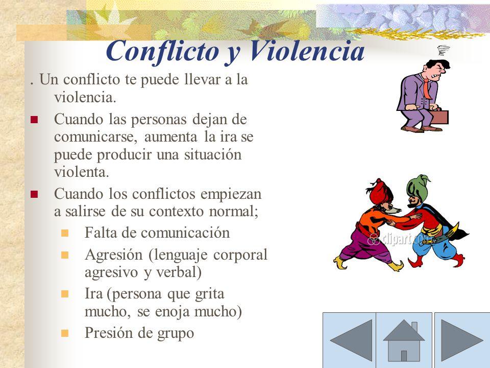 ¿Que es conflicto?conflicto Cuando las acciones o creencias de una o más miembros de un grupo son inaceptable y por lo tanto resistidas por uno o más