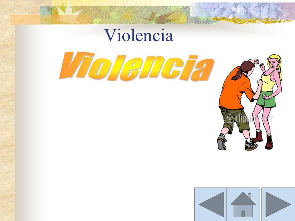 Conflicto y Violencia. Un conflicto te puede llevar a la violencia. Cuando las personas dejan de comunicarse, aumenta la ira se puede producir una sit