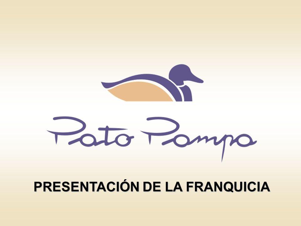 PRESENTACIÓN DE LA FRANQUICIA