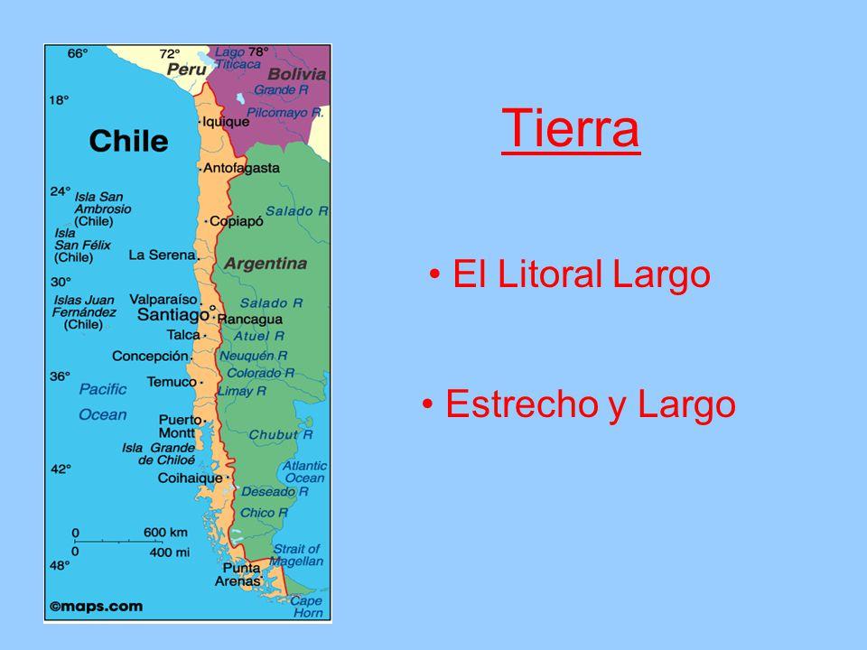 Tierra Estrecho y Largo El Litoral Largo