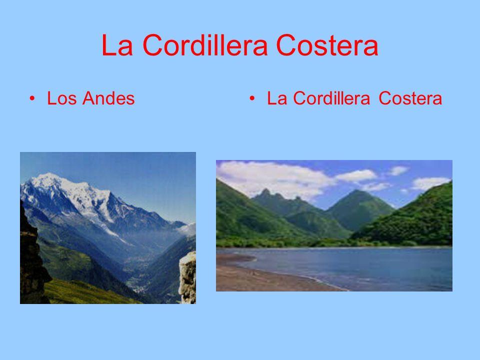 La Cordillera Costera Los AndesLa Cordillera Costera
