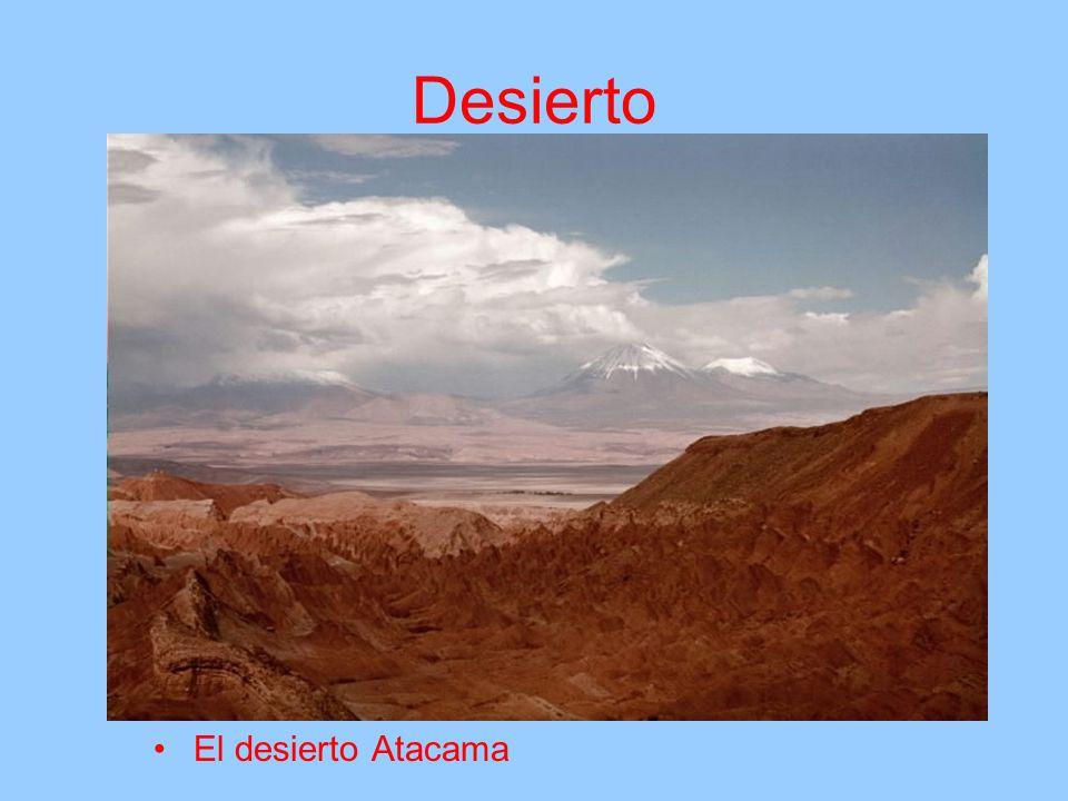 Desierto El desierto Atacama