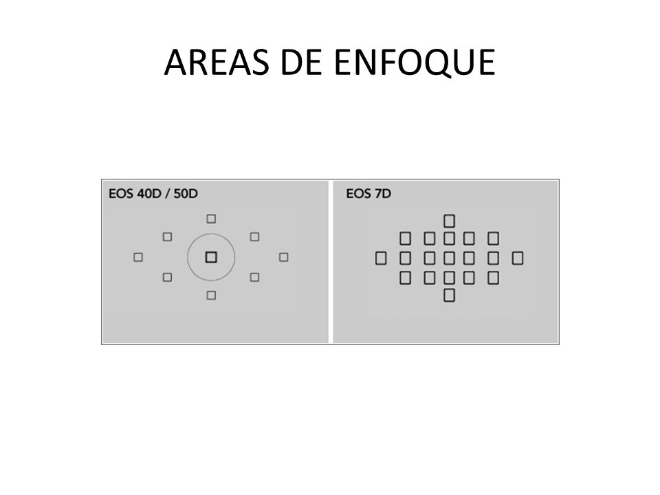 AREAS DE ENFOQUE