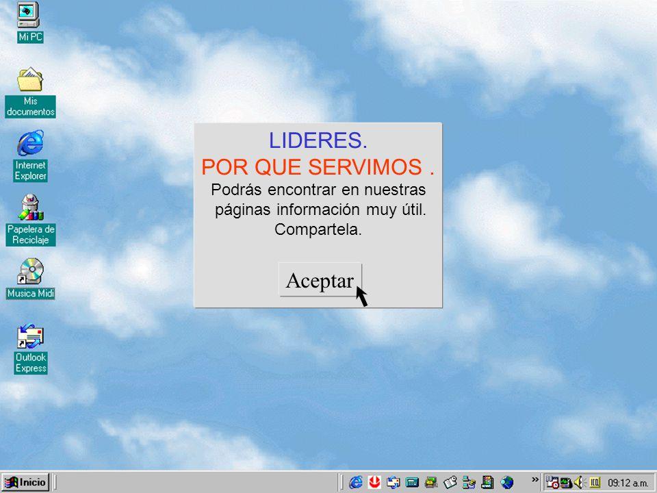 ¿Que información deseas . O.N.G. Jóvenes Perú. Organización.