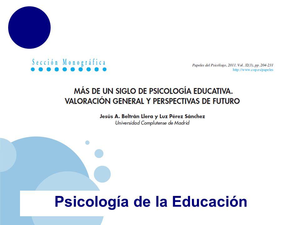 www.company.com Psicología de la Educación