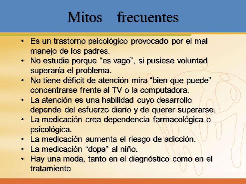 MitosfrecuentesMitosfrecuentes Es untrastornopsicológicoprovocadoporelmal manejodelospadres.Es un trastorno psicológico provocado por el mal manejo de
