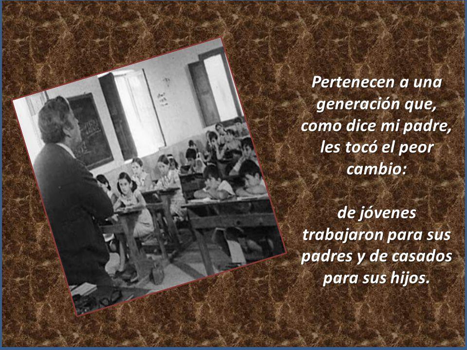 Mis padres ( dice Fernando Sánchez Salinero) : tienen en torno a 70 años, y siempre han sido un ejemplo de trabajo, honradez, austeridad, previsión y