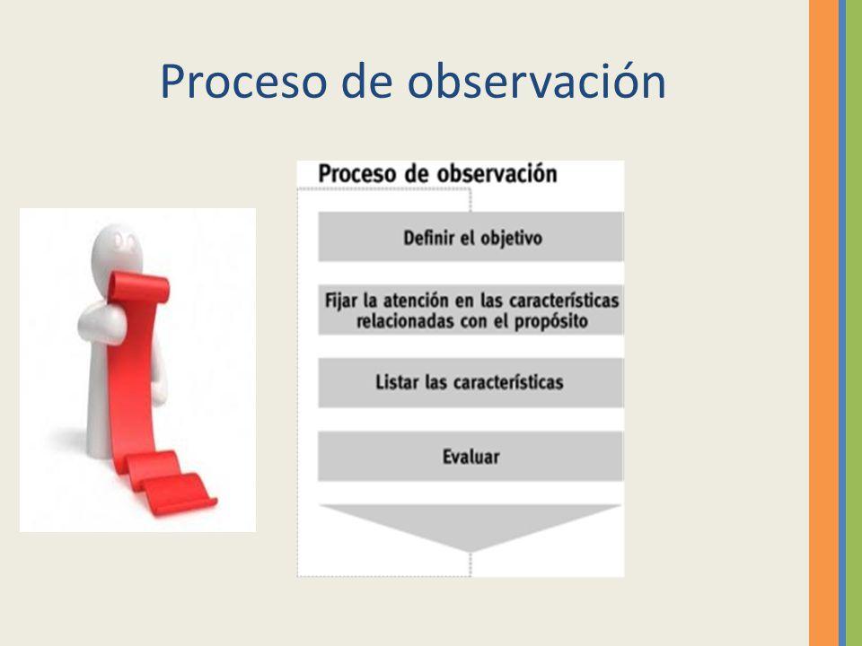 Proceso de observación