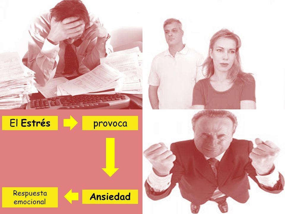 El Estrés Ansiedad provoca Respuesta emocional