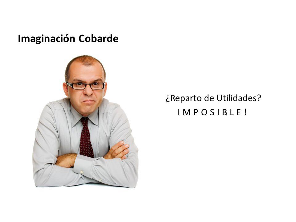 Imaginación Cobarde ¿Reparto de Utilidades IMPOSIBLE!