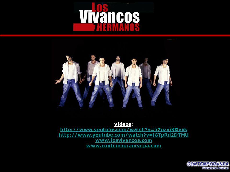 Videos: http://www.youtube.com/watch?v=b7uzvjKDyxk http://www.youtube.com/watch?v=iGTpRd2DTMU www.losvivancos.com www.contemporanea-pa.com