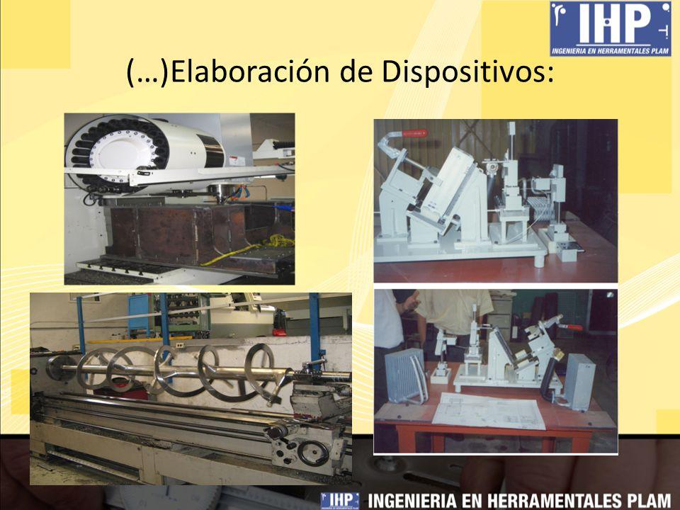 (…)Reparación y Maquinado de Moldes y Troqueles por Ingeniería CNC: