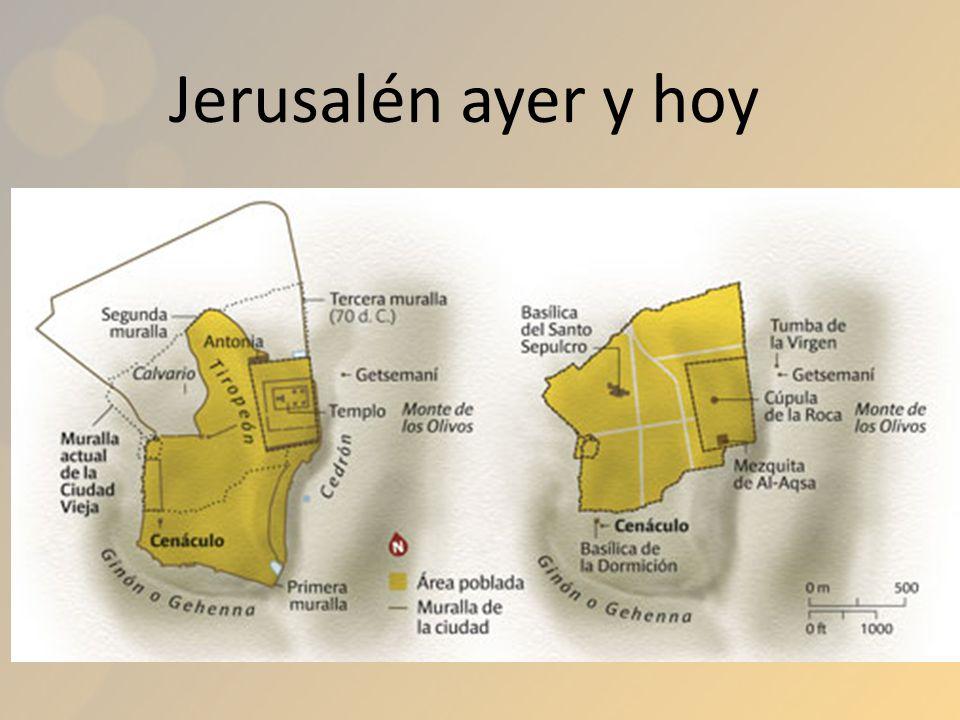 Jerusalén ayer y hoy