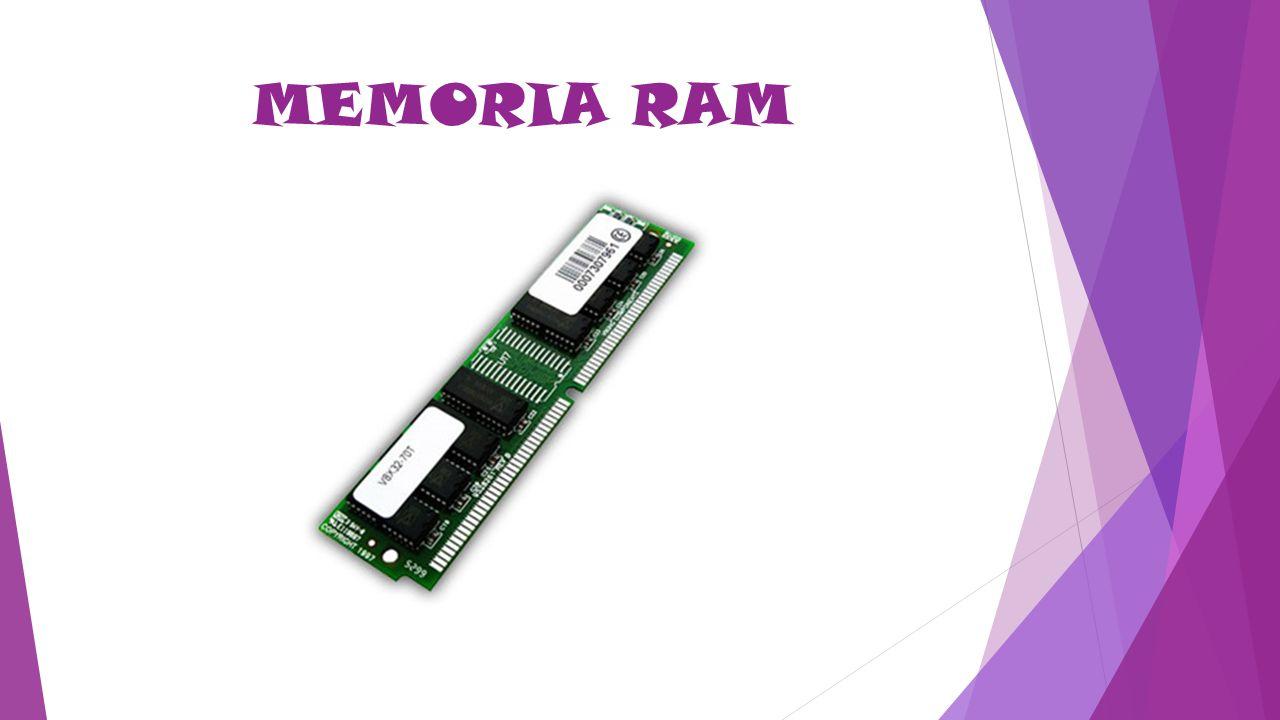 RAM : Siglas de Random Access Memory, un tipo de memoria a la que se puede acceder de forma aleatoria; esto es, se puede acceder a cualquier byte de la memoria sin pasar por los bytes precedentes.