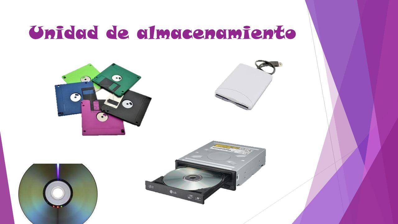 Estos dispositivos leen y escriben datos en medios o soportes de almacenamiento, y juntos conforman la memoria secundaria o almacenamiento secundario de la computadora.