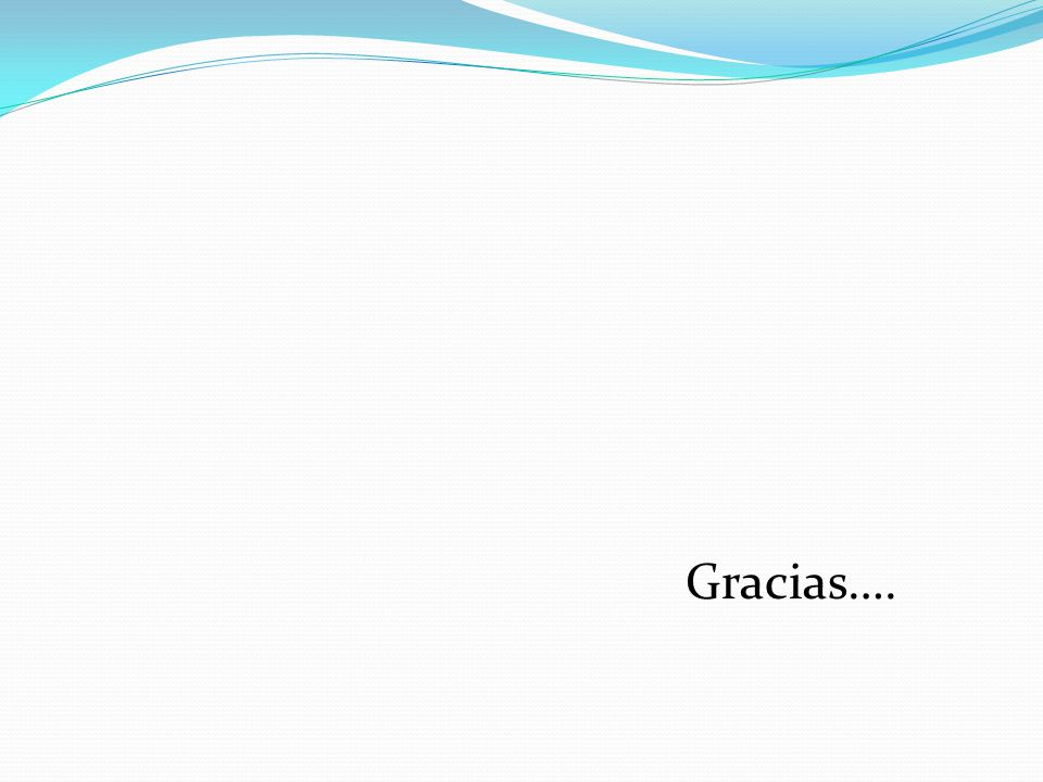 Gracias….