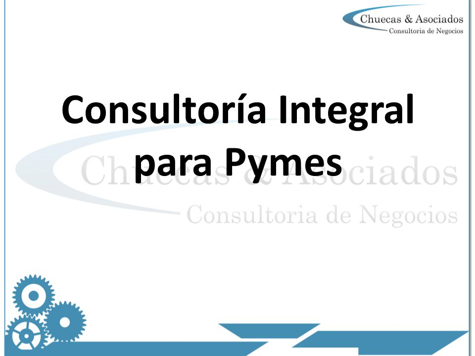 Consultoría Integral para Pymes