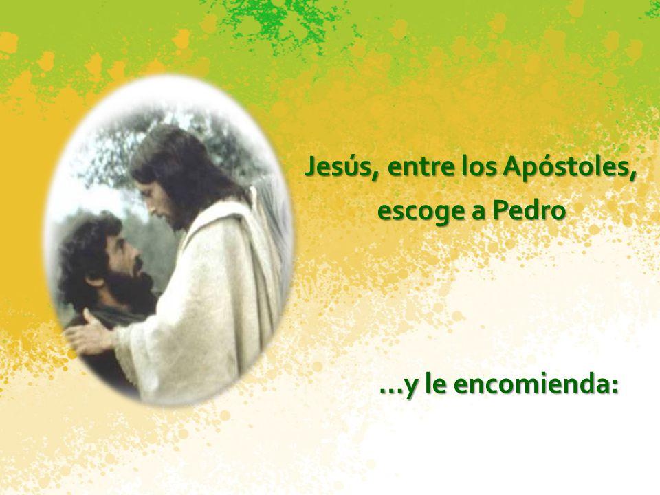 Jesús elige a los doce Mientras subía a la montaña, Jesús fue llamando a los que Él quiso. A doce los hizo sus compañeros, para enviarlos a predicar (