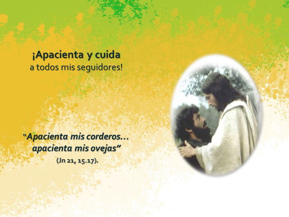 ¡ Sé fundamento con los demás apóstoles, de mi Iglesia! Tú eres Pedro, y sobre esta piedra y sobre esta piedra edificaré mi Iglesia (Mt 16, 18).