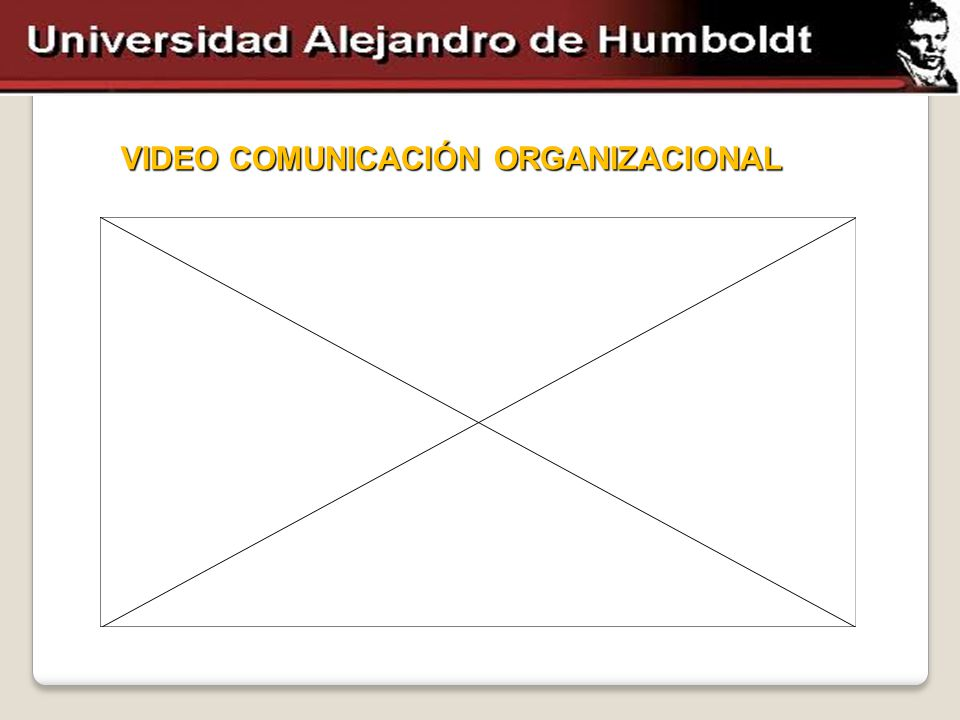 VIDEO COMUNICACIÓN ORGANIZACIONAL
