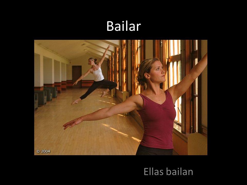 Bailar Ellas bailan