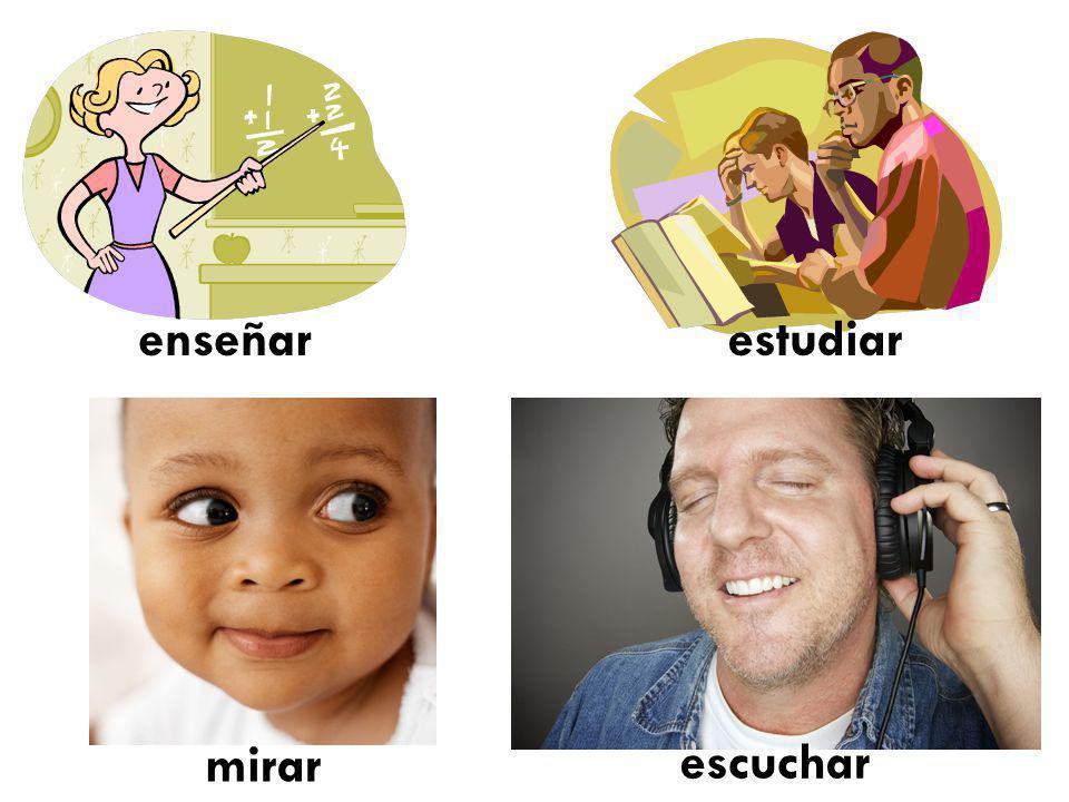 14 Por ejemplo…: hablar hablar habl o as a amos áis an I speak You speak He She speaks Usted We speak Yall Speak They Speak Ustedes Speak