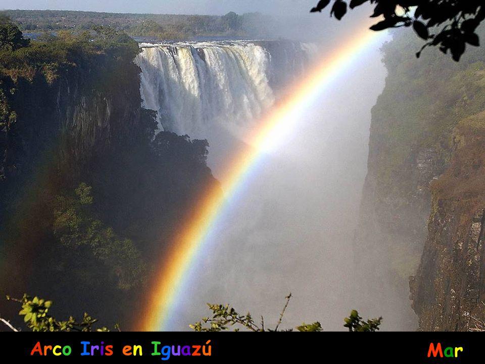Arco Iris en Iguazú Mar