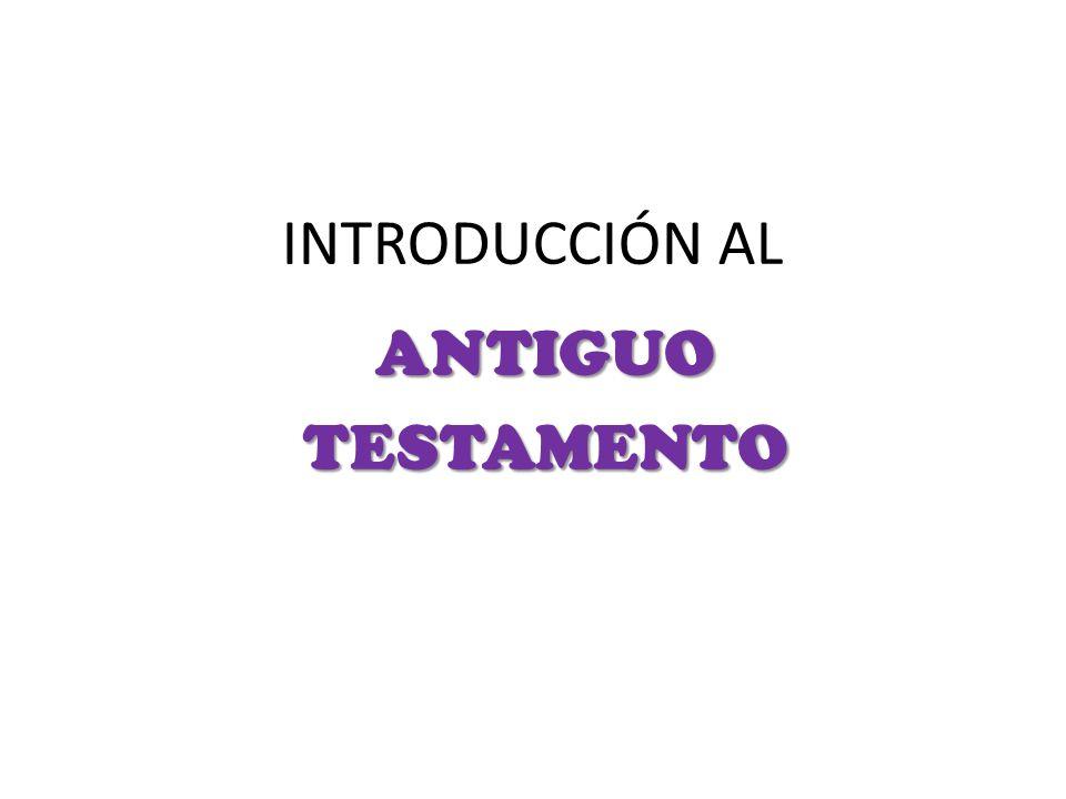Tengamos cuidado de despreciar el Antiguo Testamento.
