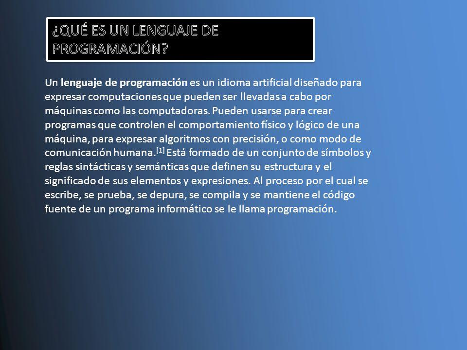 1.- ¿QUE ESTRUCTURA TIENE LOS LENGUAJES DE PROGRAMACION.