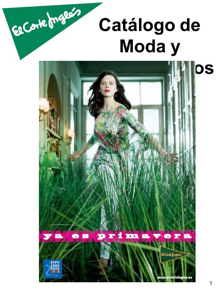 Catálogo de Moda y Complementos 1