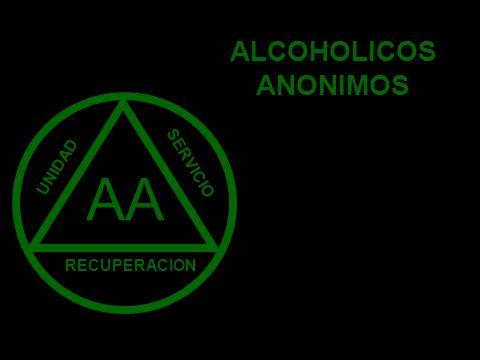 AA SERVICIO RECUPERACION UNIDAD ALCOHOLICOS ANONIMOS
