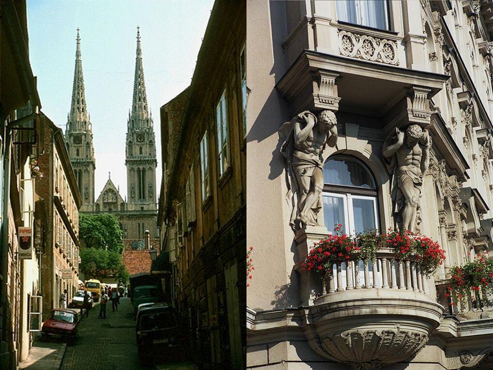 La capital de Croacia ostenta una arquitectura hermosa y una enorme actividad cultural, que destaca en todas las artes y que es famosa por la calidad de su cine.