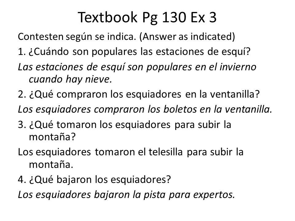 La Tarea Workbook Pg 61 Ex 13 and 14