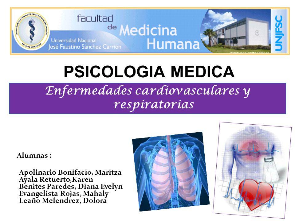 ¿ Cuáles son las enfermedades cardiovasculares y respiratorias más frecuentes.