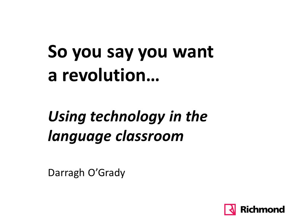 Technology in the classroom is a distraction and doesnt help the learning process.