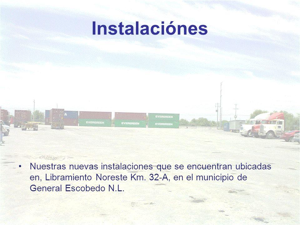 Instalaciónes Nuestras nuevas instalaciones que se encuentran ubicadas en, Libramiento Noreste Km. 32-A, en el municipio de General Escobedo N.L.