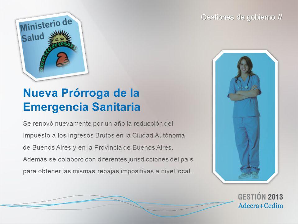 Se renovó nuevamente por un año la reducción del Impuesto a los Ingresos Brutos en la Ciudad Autónoma de Buenos Aires y en la Provincia de Buenos Aire