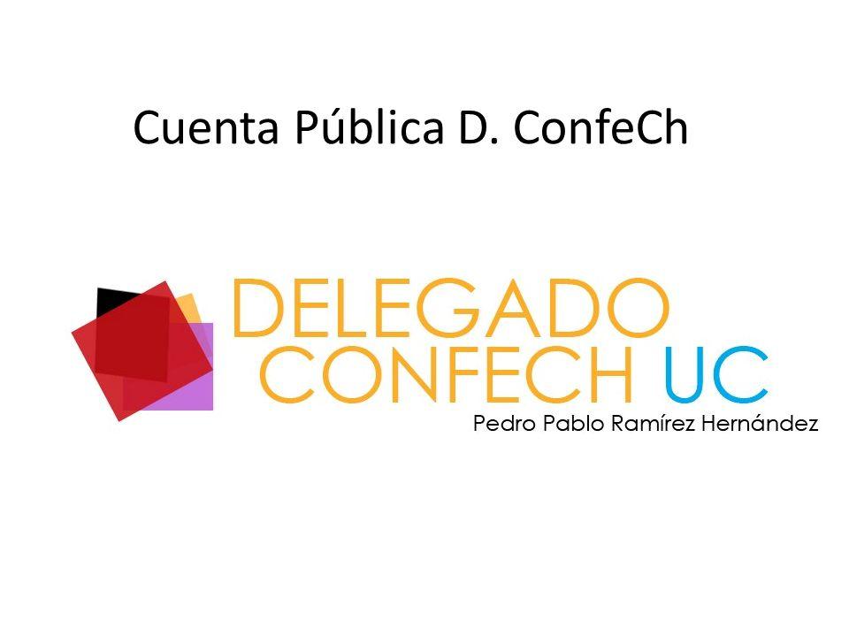 Cuenta Pública D. ConfeCh