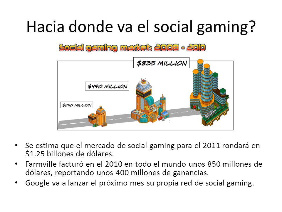 Hacia donde va el social gaming.