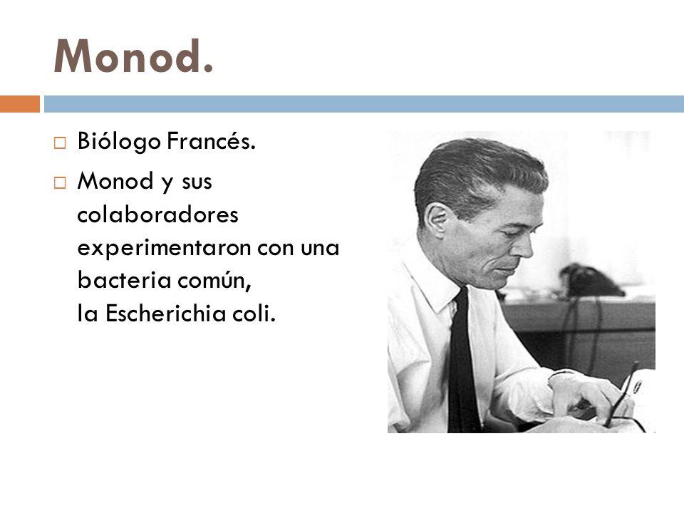 Monod.Biólogo Francés.