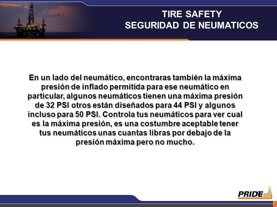 8 Otro punto importante que se nos escapa muchas veces es el inflado de los neumáticos, la mayor parte de las gasolineras calibrarán tus neumáticos a