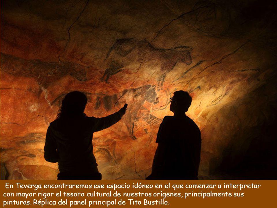 Parque de la Prehistoria de Teverga En este parque a través de textos, dibujos, mapas, fotografías, audiovisuales y reproducciones podemos hacer un recorrido por los distintos aspectos de este arte milenario.