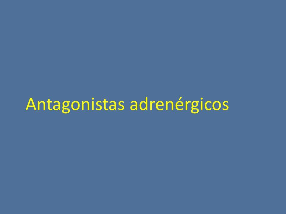 Antagonistas adrenérgicos