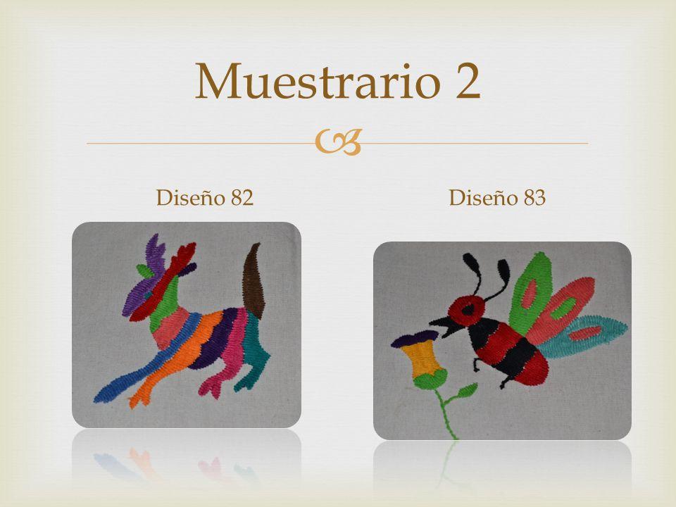 Muestrario 2 Diseño 82Diseño 83