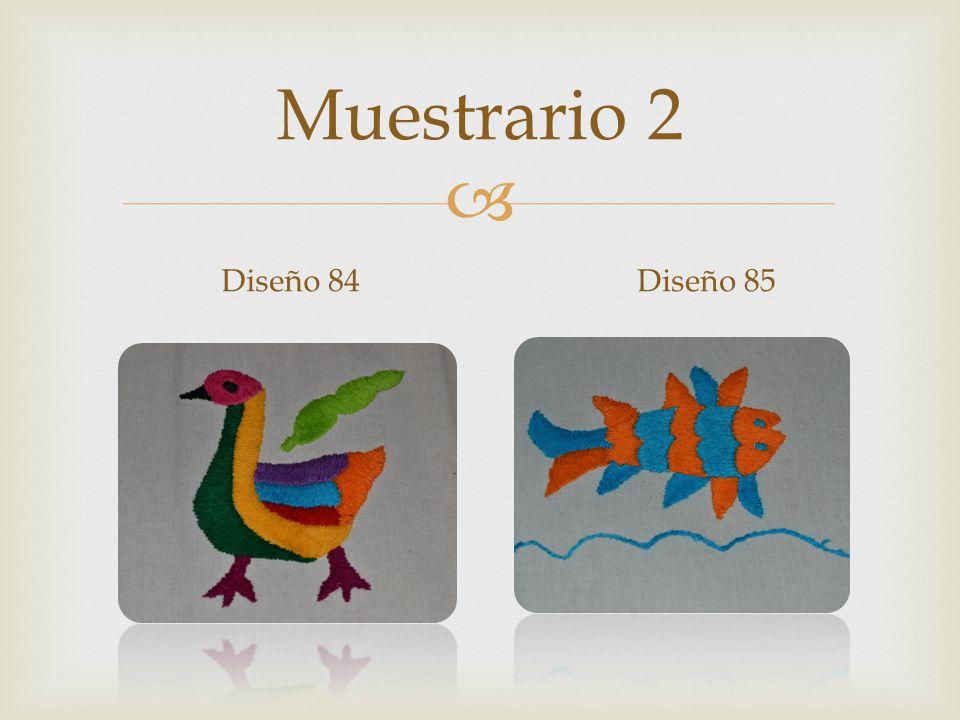Muestrario 2 Diseño 84Diseño 85