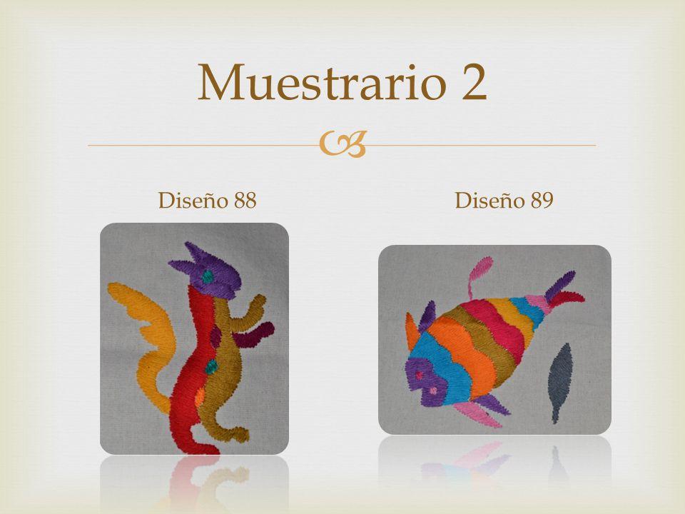Muestrario 2 Diseño 88Diseño 89